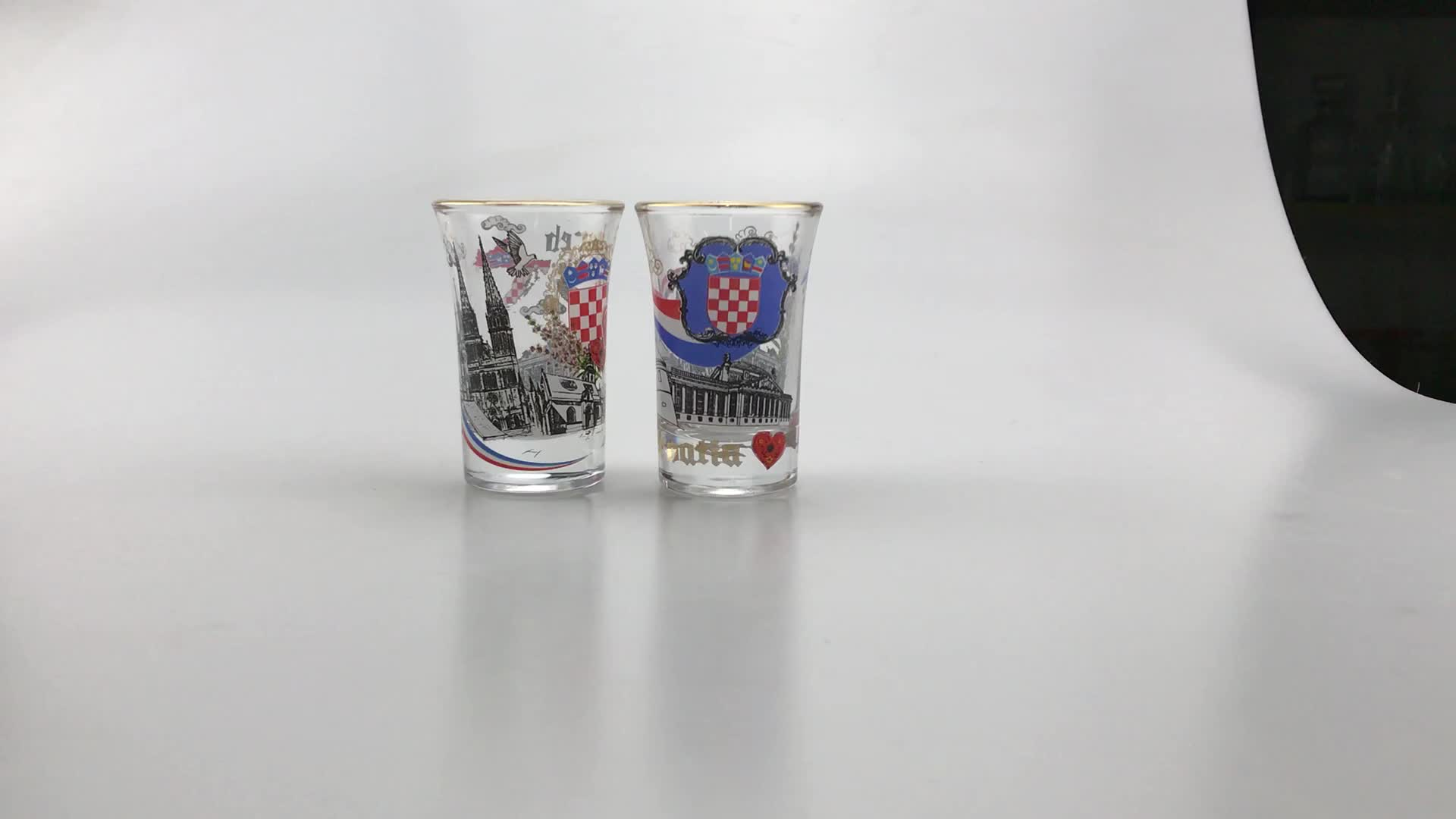 Person Tequila Shot Glass Cup Set