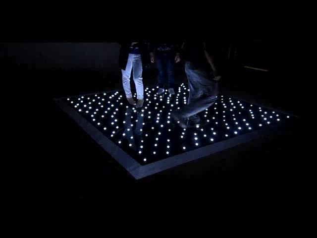 Alibab top selling white and black waterproof led dance floor for sale