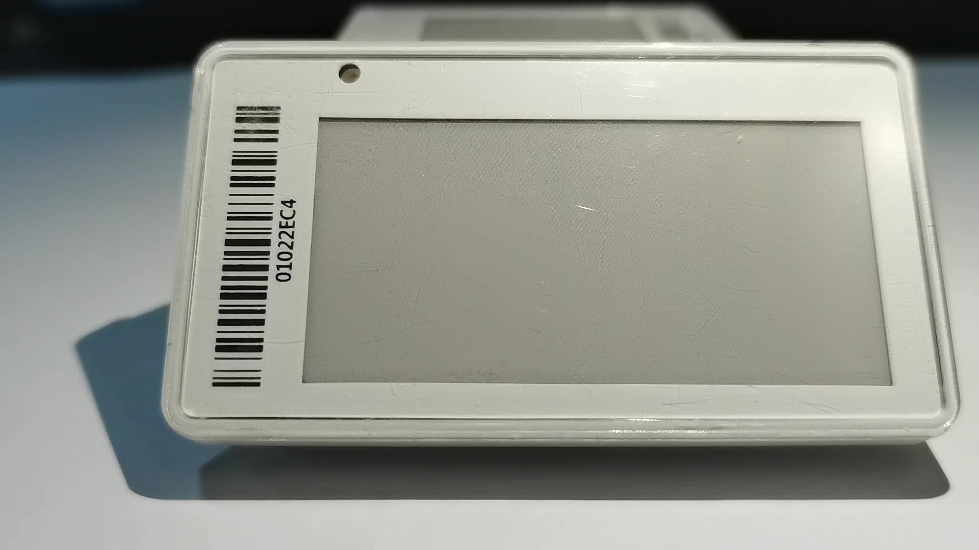 קמעונאות אלחוטי E-נייר E-דיו אלקטרוני מחיר תגיות דיגיטלי מדף תווית ESL