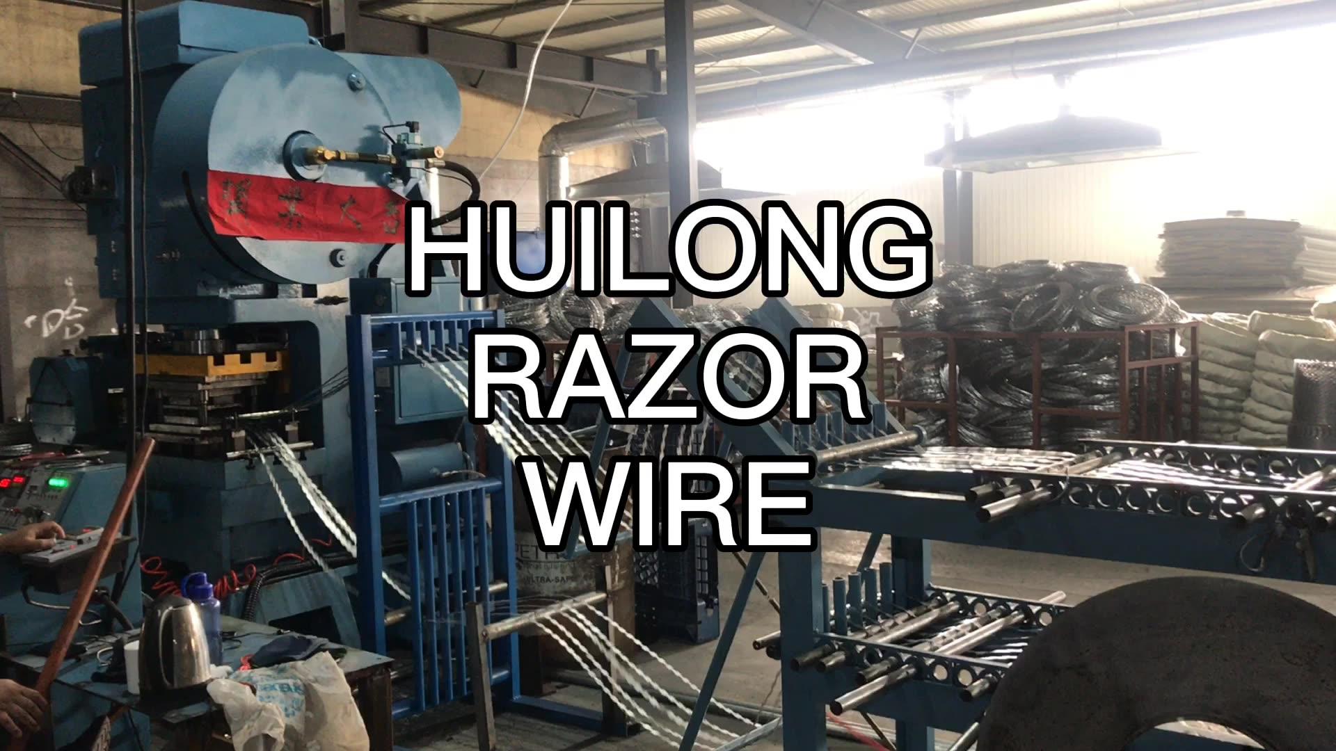 Best factory price BTO-22 razor barbed wire