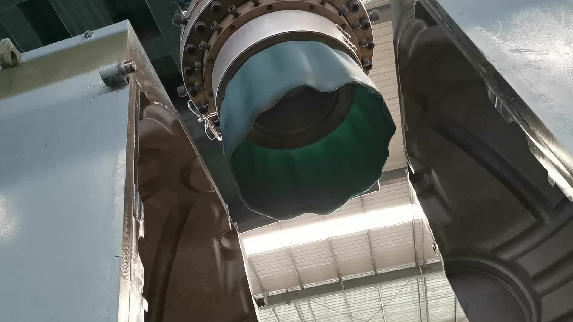 압출 기계 2000 리터 플라스틱 물 탱크 기계