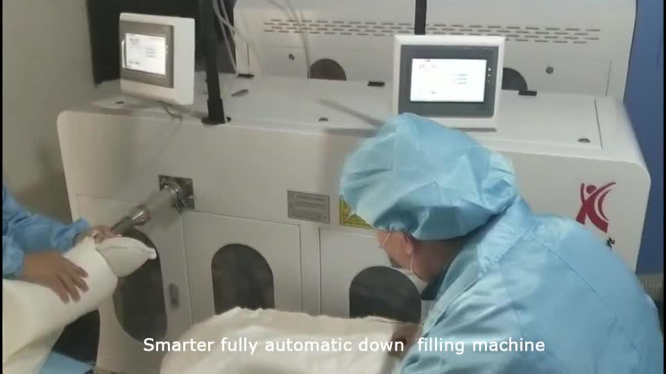 Akıllı tamamen otomatik kaz tüyü dolum makinaları
