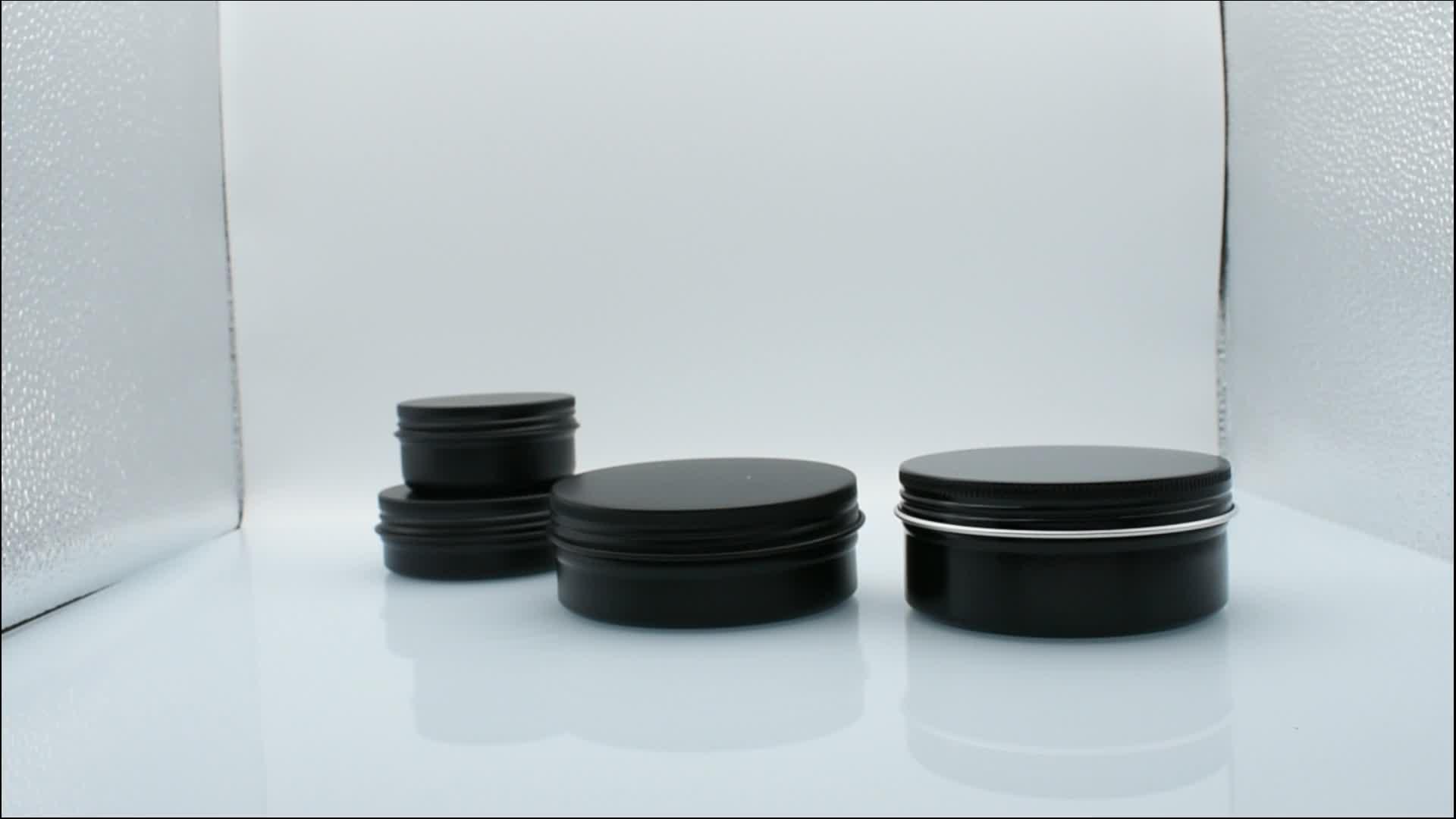 China leverancier 15 ml 30 ml tin kan aluminium 50 ml 60 ml 100 ml 150 ml aluminium tin box 15g 30g 50g 60g 100g 150g aluminium tin potten