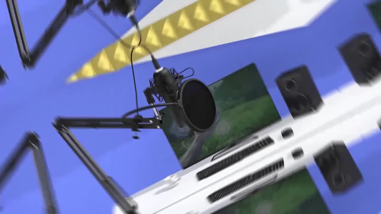 Microfono de Metal profissional condensador podcast Microfone para gravação de voz