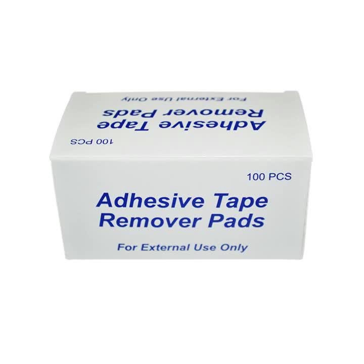 Medical Consumable Non Woven Adhesive Tape Remover Pads