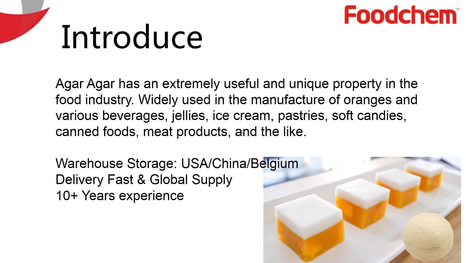 miglior prezzo e406 produttori di agar agar