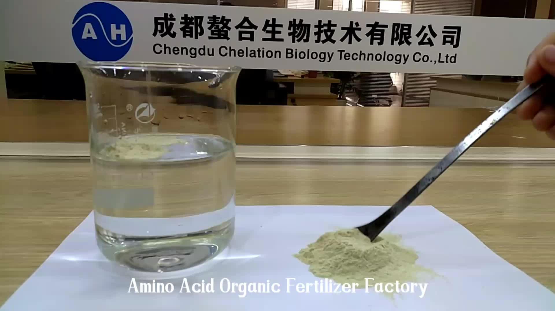Fertilizer Chelated Amino Acidos Trace Elements