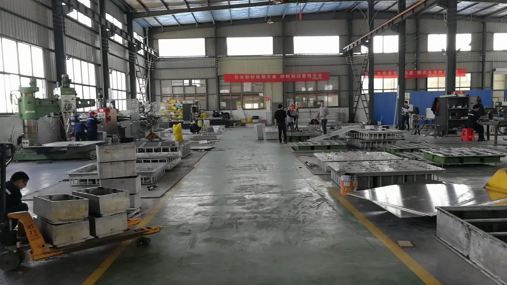 Aluminium Berkualitas Tinggi EPS Berbusa Cetakan Injeksi untuk Ikan Kotak