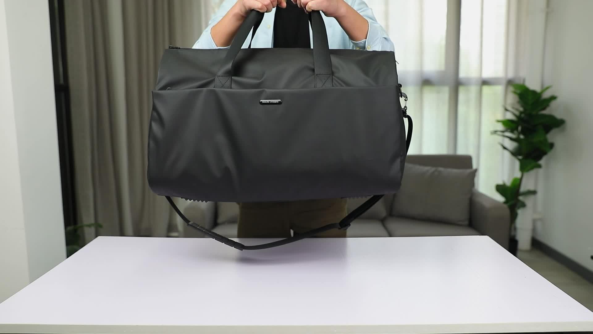 סימן Ryden גדול קיבולת עסקי חליפת נסיעות לשמירת תיק גברים