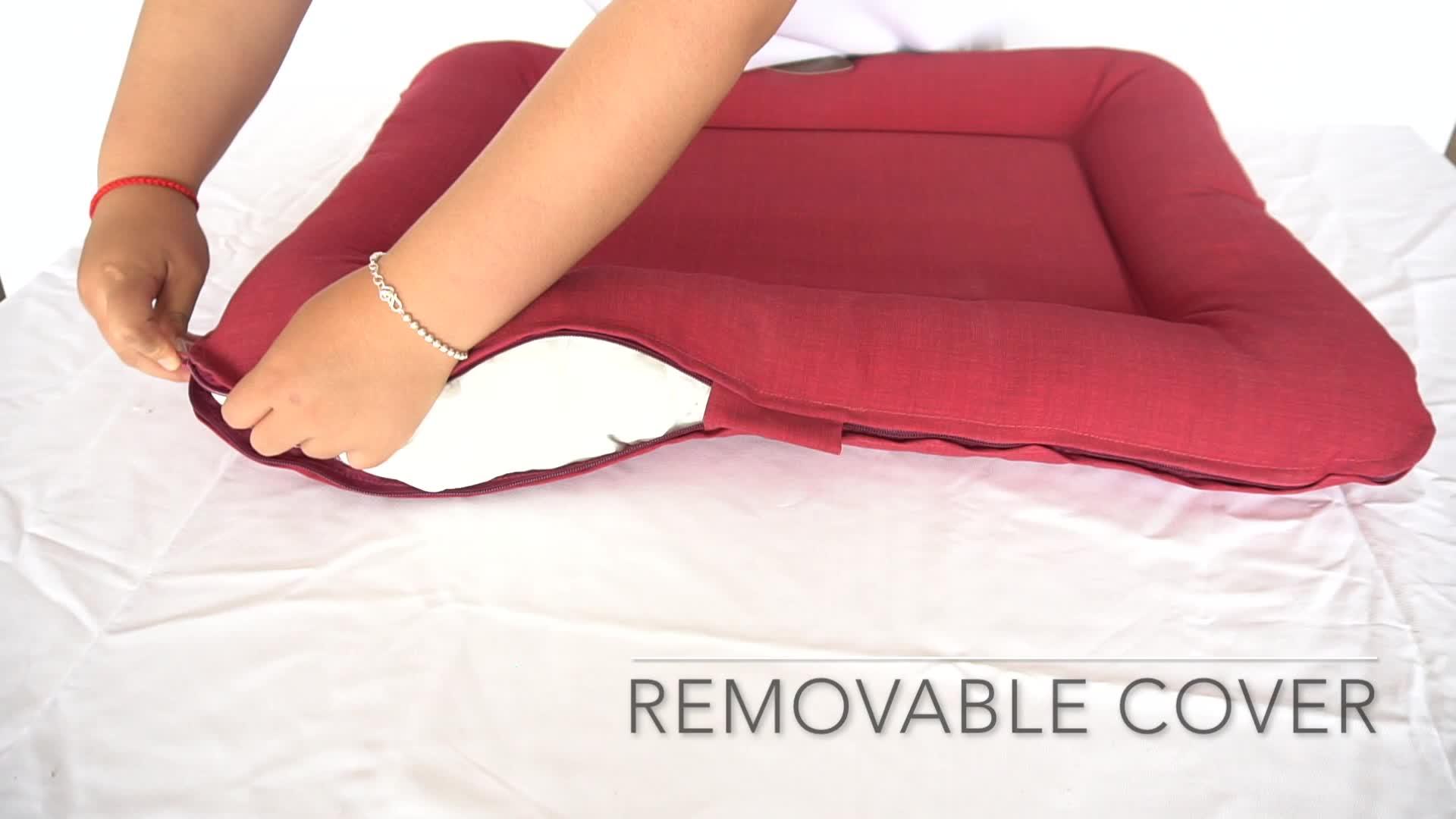 Eco-Friendly Material PP Fiber Pet Supplies Mat Detachable Dog Bed Sofa Pad