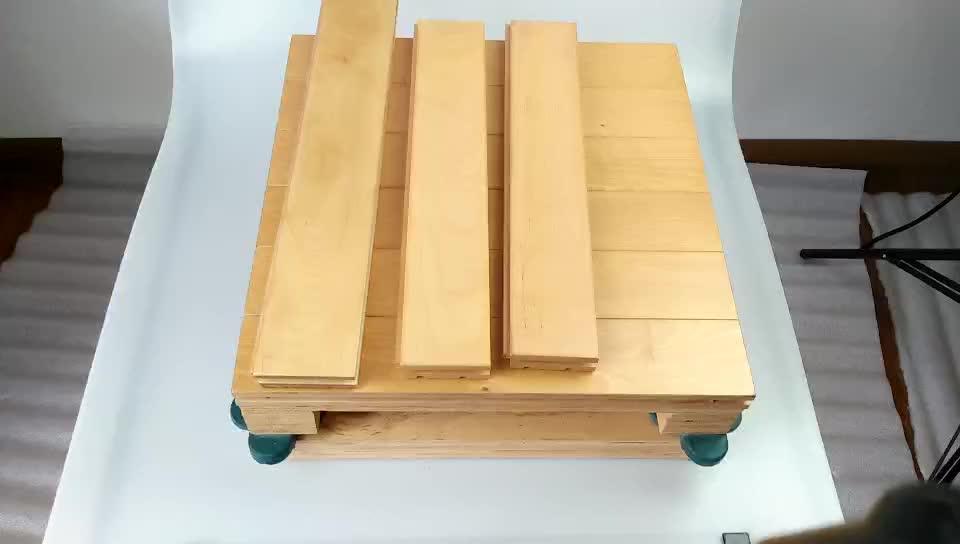 Suelo de madera de arce de pista de baloncesto
