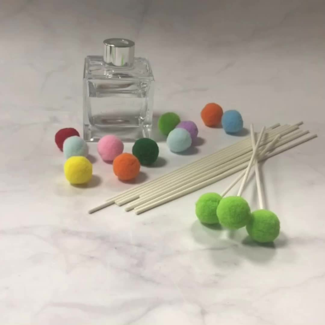 New style of fiber stick for reed diffuser decoration use