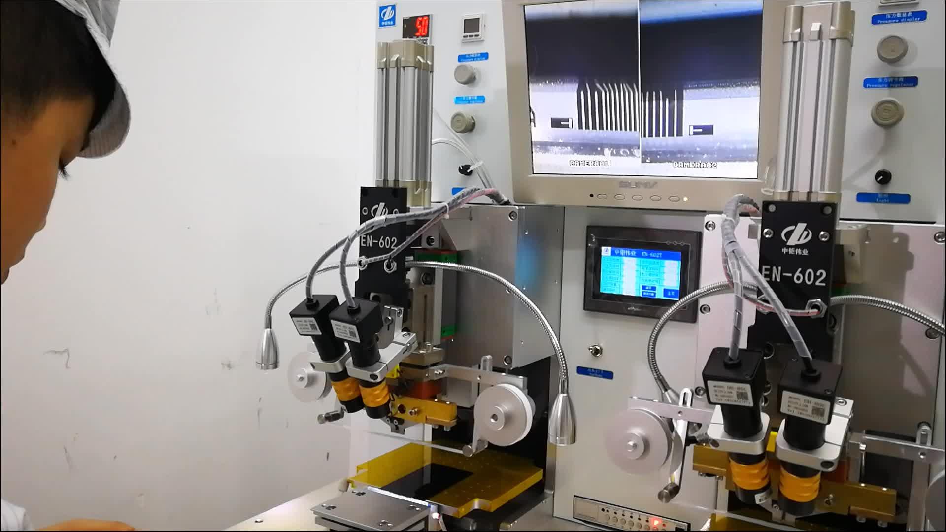 Stabiele Bonding Reparatie Lcd Pulse Druk Flex Kabel Machine Voor Flex Kabel Reparatie ACF FPC Bonding Machine