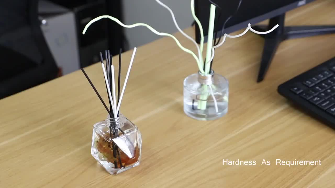 Fabricación Original al por mayor pegamento gratis de fibra de difusión fragancia stick sin pegamento