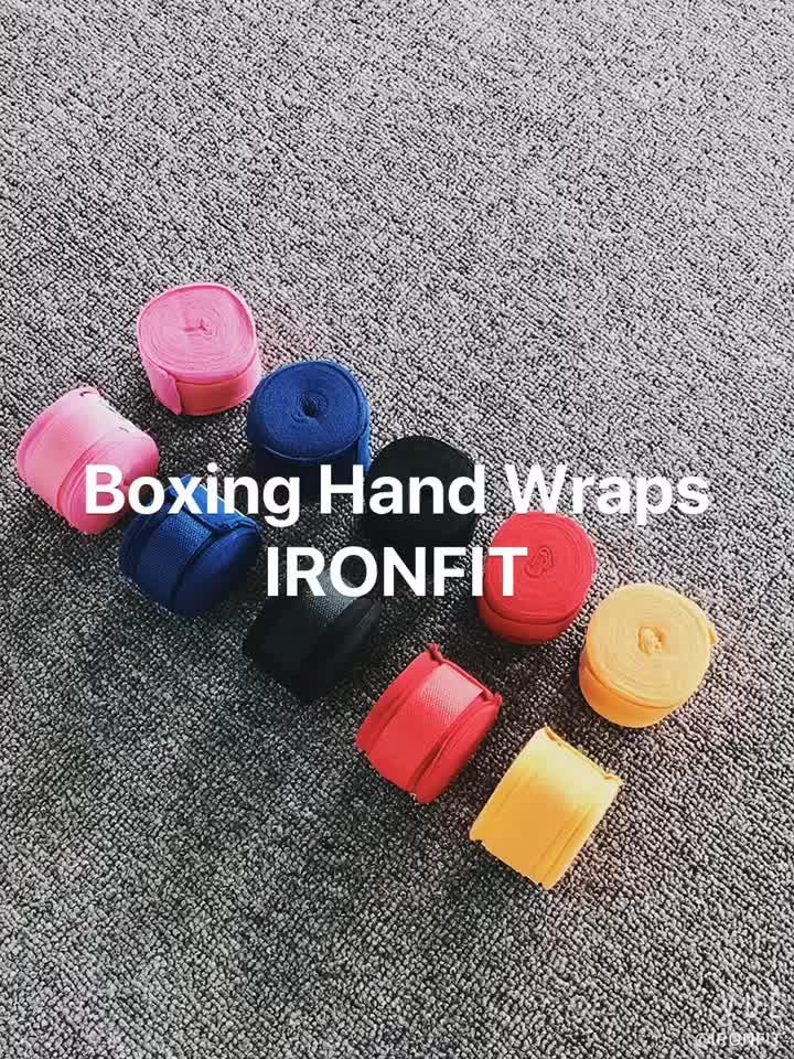 Elastic 180 inch Tùy Chỉnh In Ấn Boxing Tay Wraps