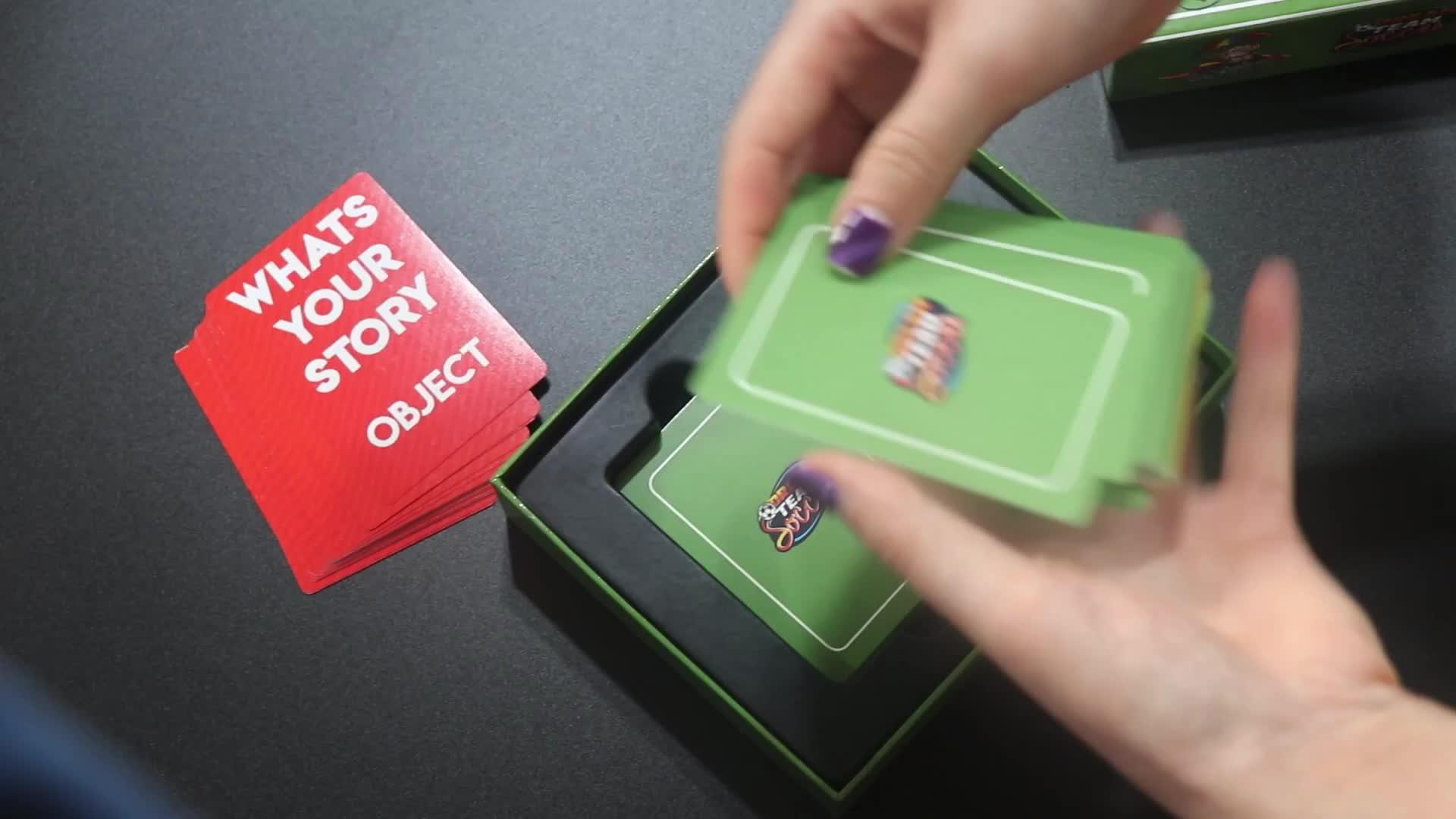 Топ с индивидуальным рисунком, качество, на заказ, бумажная игра, настольная игра, дизайн, индивидуальная печать, оптовая продажа