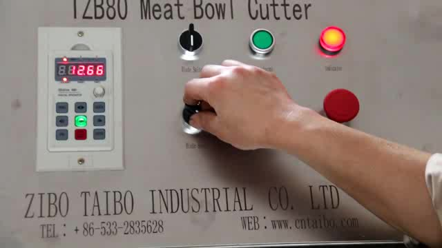 Commercial electric Food grade 304 stainless steel meat bowl cutter machine for meat chopping and mixing/ meat mixer