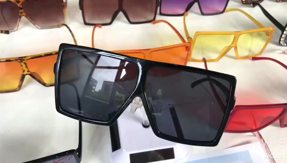 Square Oversized Glasses Fashion Custom Sunglasses