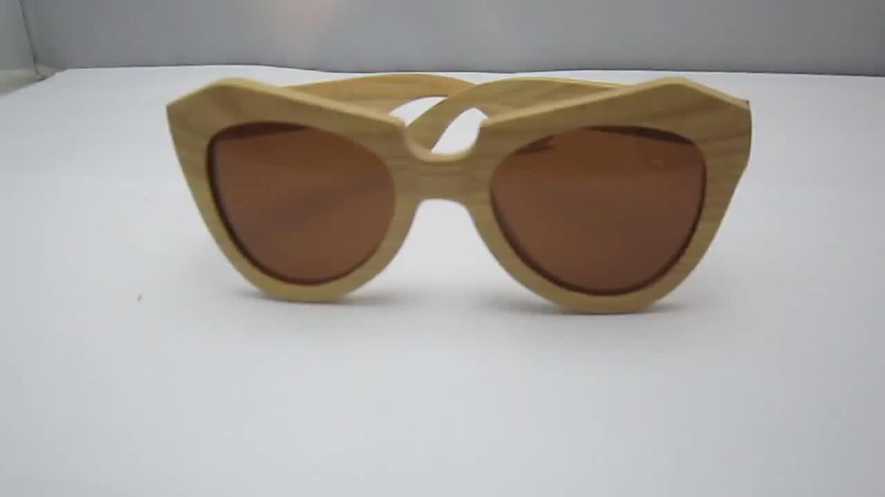 Newest Customized Cherry Wooden Wood Polarized Sunglasses