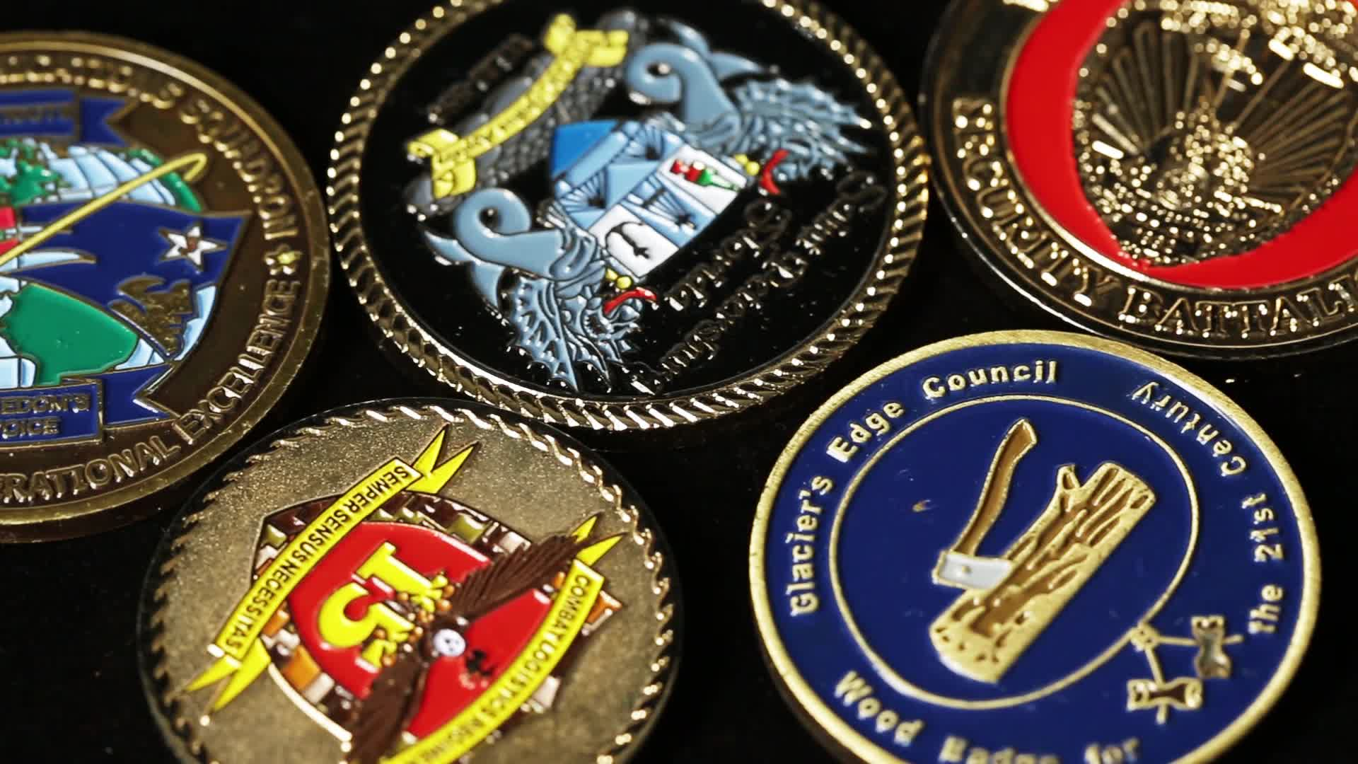 Nice Quality Zinc Alloy Blank Metal Challenge Coin Sublimation