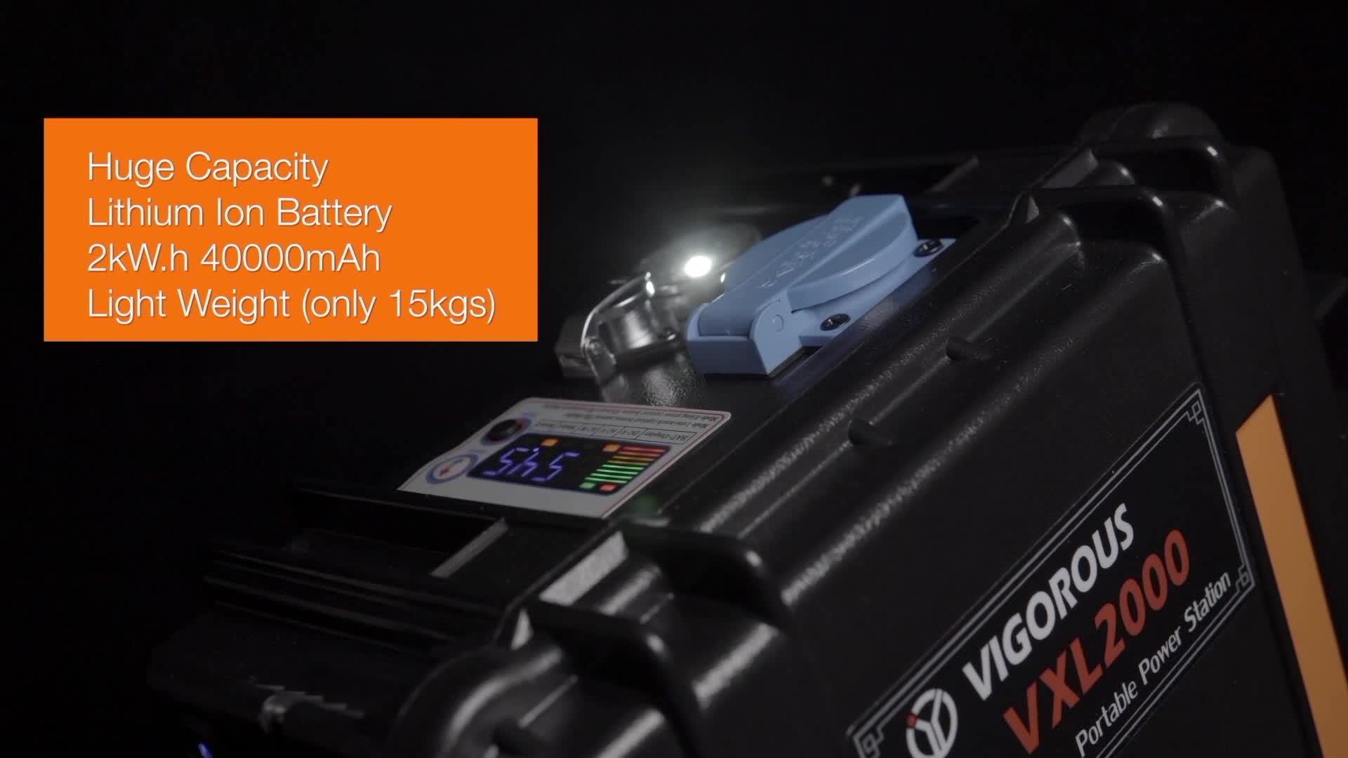 2000Wh смартфон power bank 50 Гц чемодан солнечный генератор фирменные генератор цены Мьянма