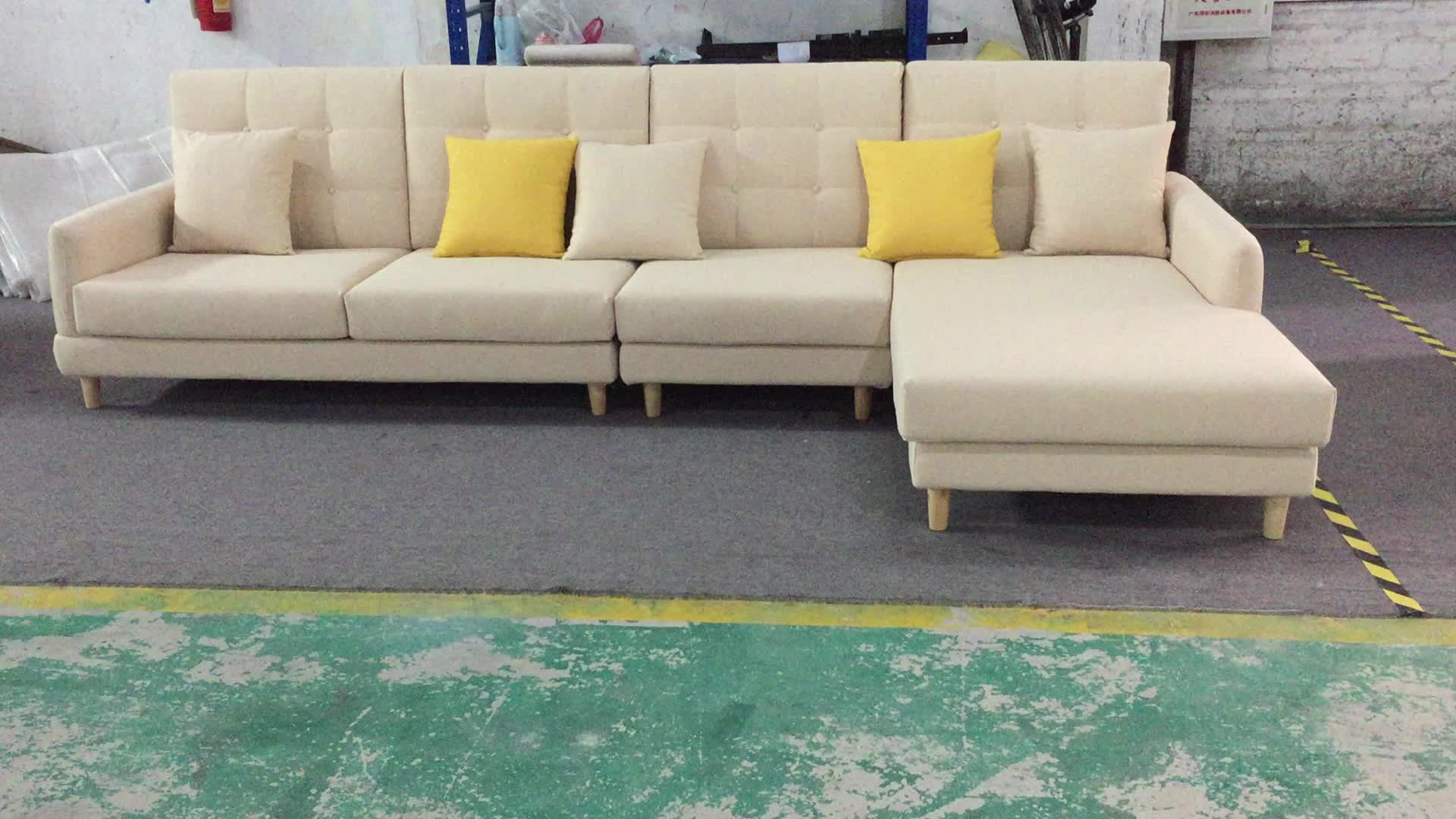 Modern leather  Nordic Sofa for Sale