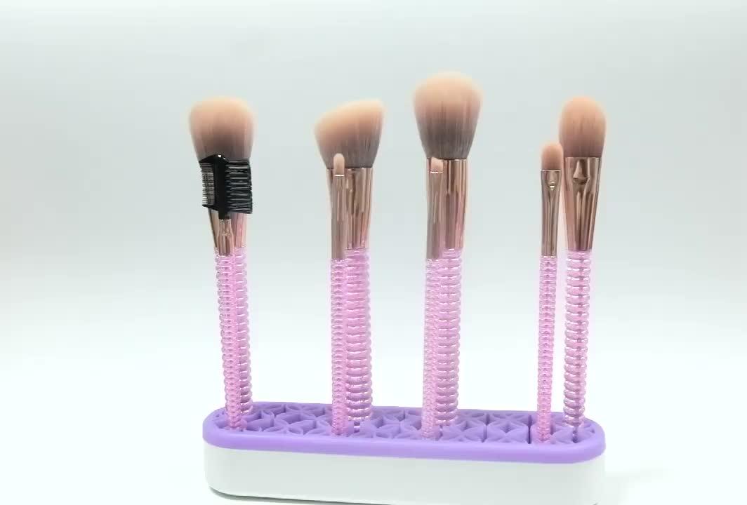 China manufacture makeup brushes 8pcs set specialized powder cosmetic brush