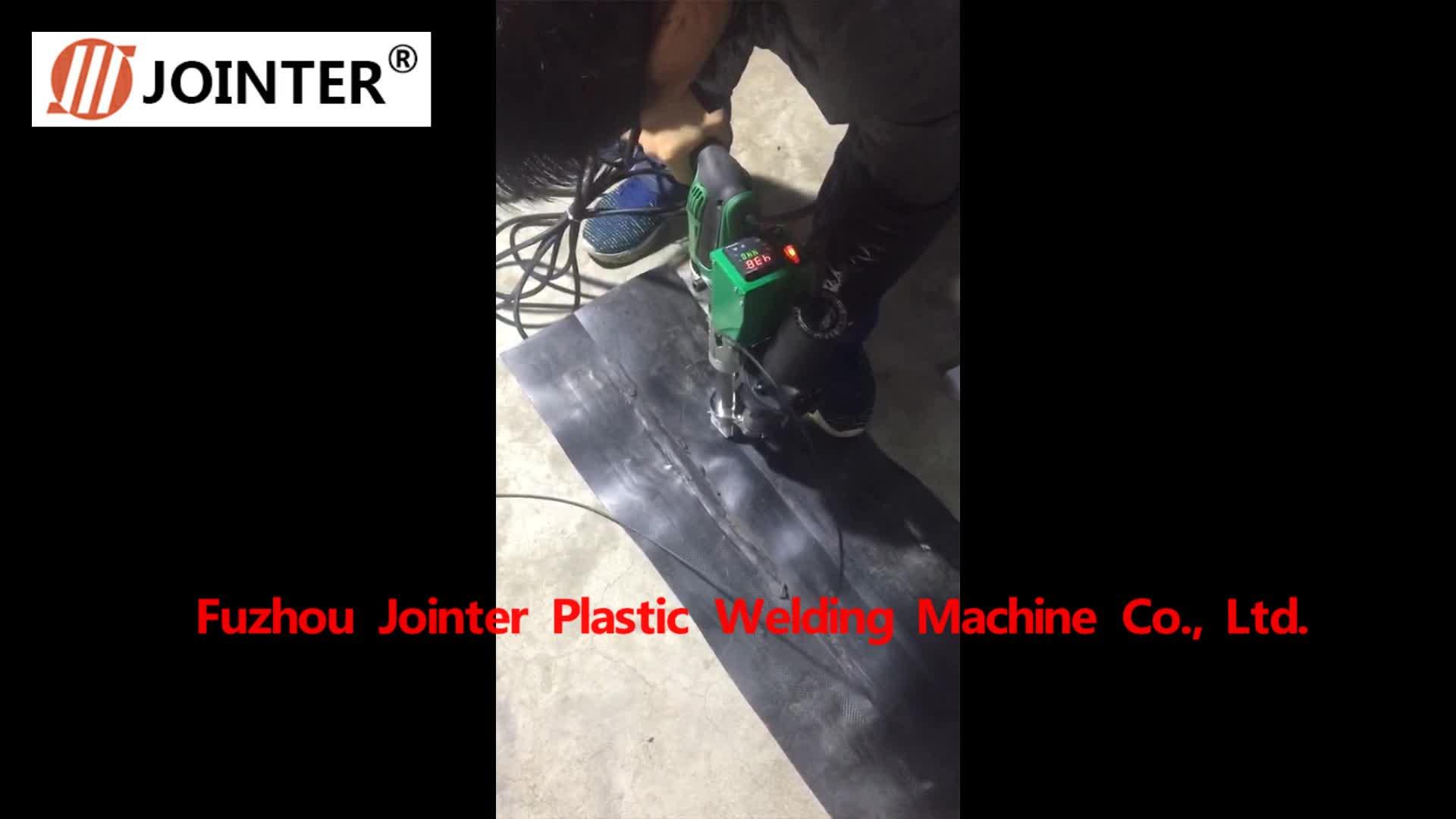 Один винт ручной пластик экструдер сварочный аппарат для прямой продажи