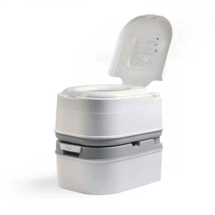 2020 gmf プラスチックポータブルキャンプ携帯堆肥化トイレ