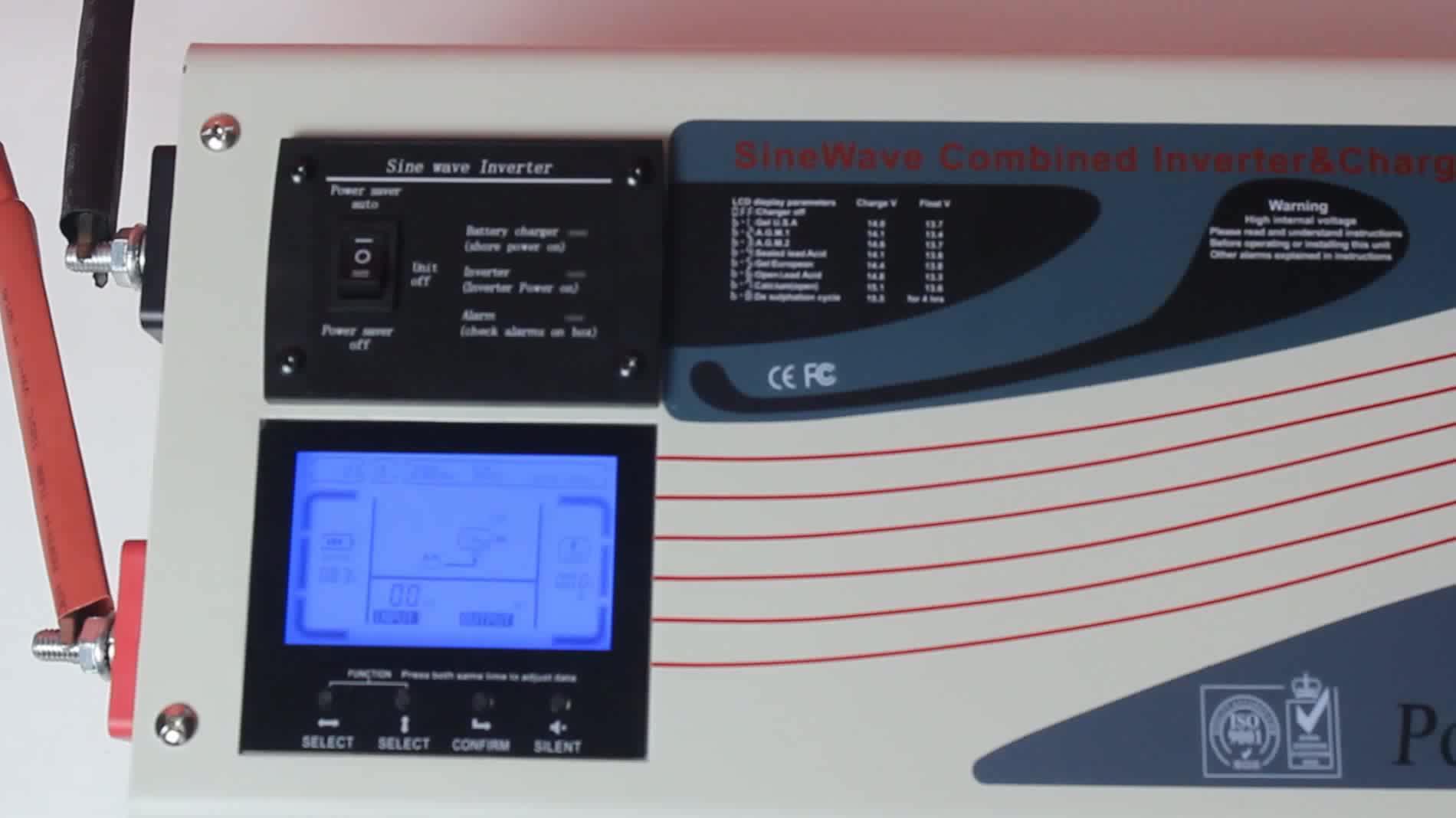 3000 watt Power Star LW Power inverter with AC charger 220V 12V