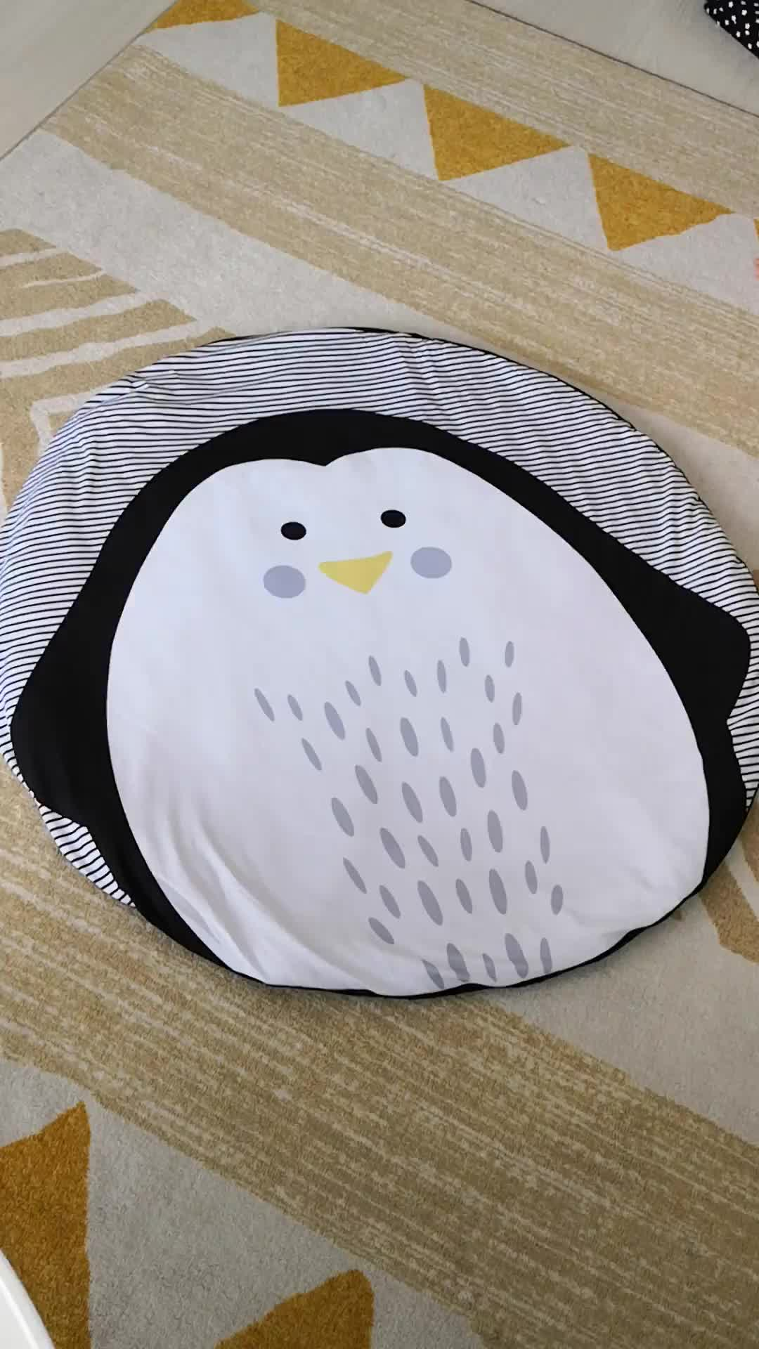 Low cost Beautiful baby sleeping mat 100% cotton baby gym play mat baby room furniture