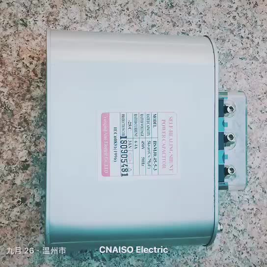 Good Quality Three Phase 5kvar Power Film Capacitor With Factory Price