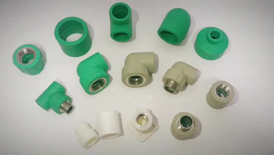 Hot sell plumbing pipe fitting names germany ppr pipe fittings for