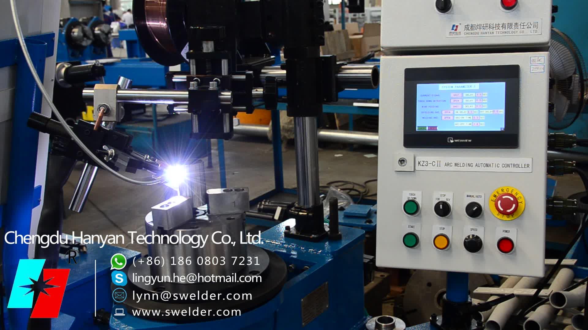 HF-300LY verticale druk type lasmachine