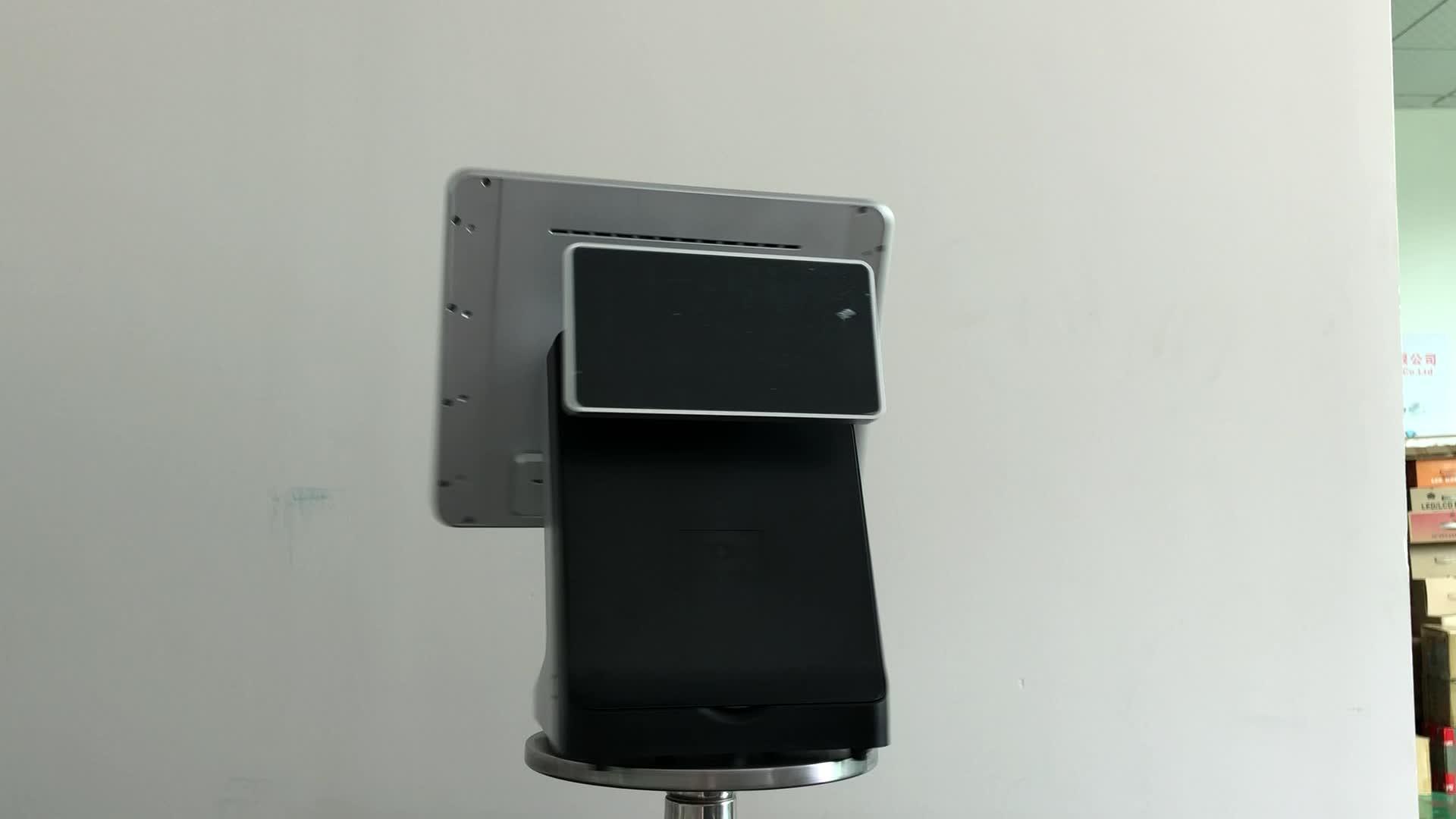 Windows Caisse Enregistreuse De Point De Vente à écran tactile pos tout en un système de Point de vente pour la vente au détail