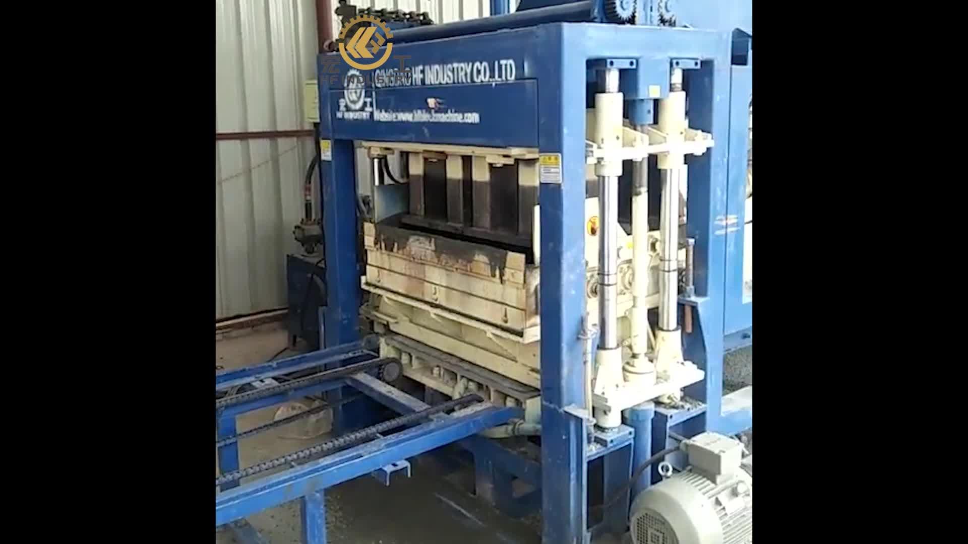 Qt4-16 Automatische Hydraulische Cement Building Hollow Bestrating Betonblok Blok Maken Machine