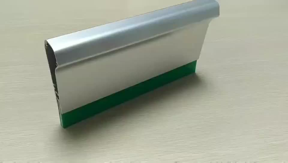 Topted selling high quality Aluminium golden handle with squeegee