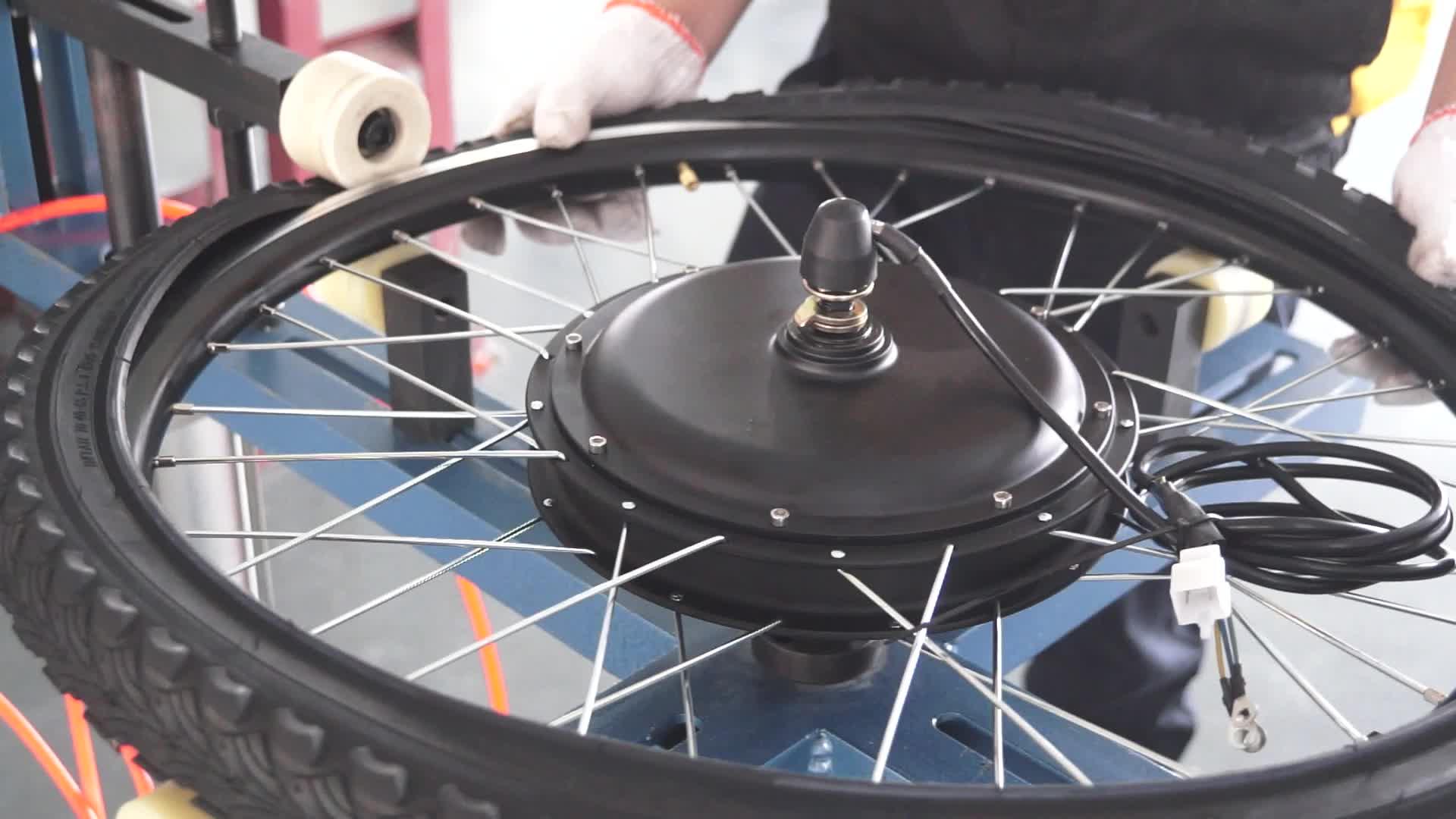 """16 """"26"""" 28 """"700c dianteiro/traseiro roda superior 48v 500w 1000w motor de cubo sem escova ebike kit kit de conversão de bicicleta elétrica"""