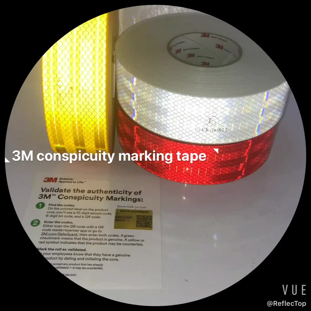 South America Conspicuity Vehicles Reflective Tape