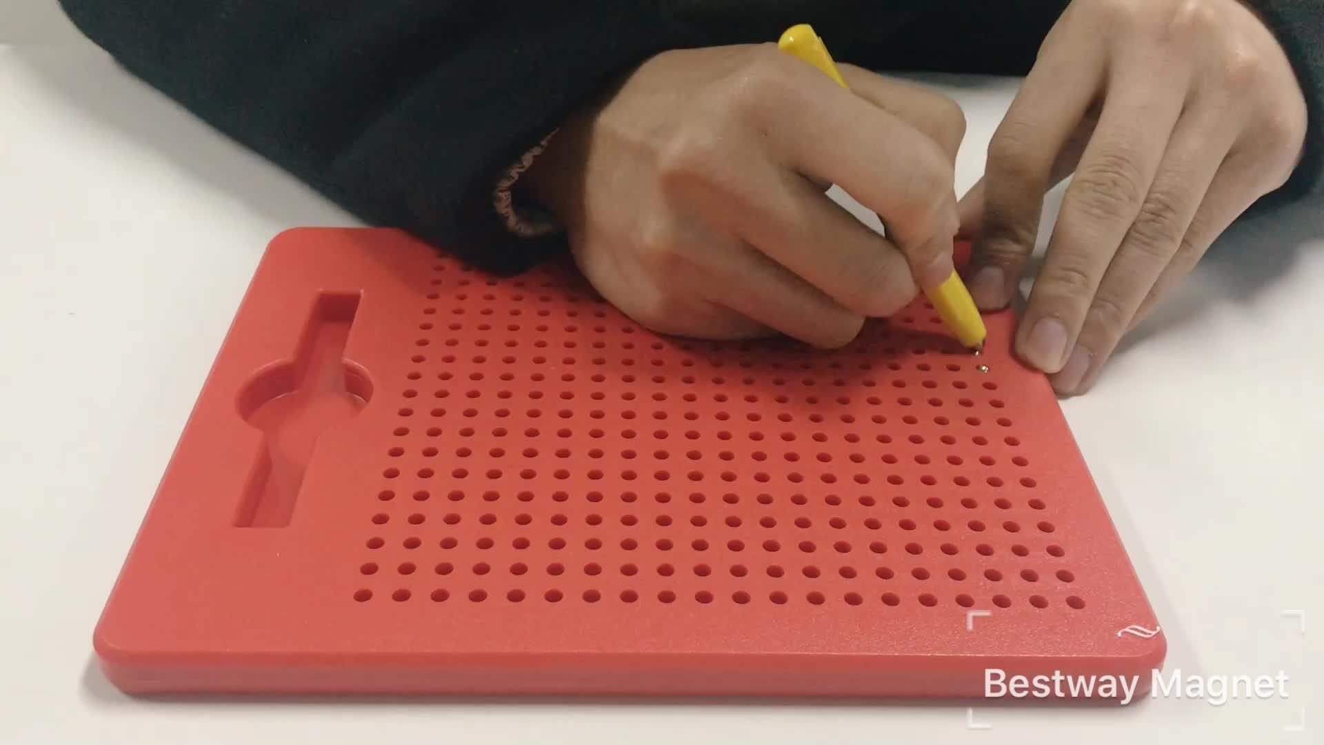 2019 नए खिलौने बच्चों पूर्वस्कूली शैक्षिक बच्चों के खिलौने के लिए चुंबक बोर्ड के लिए