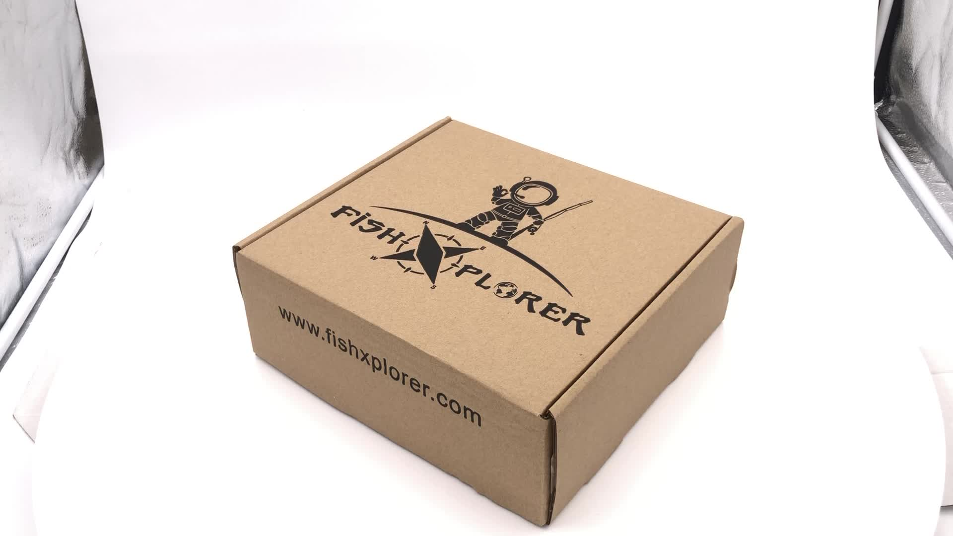 High Quality Guaranteed shipping boxes custom logo