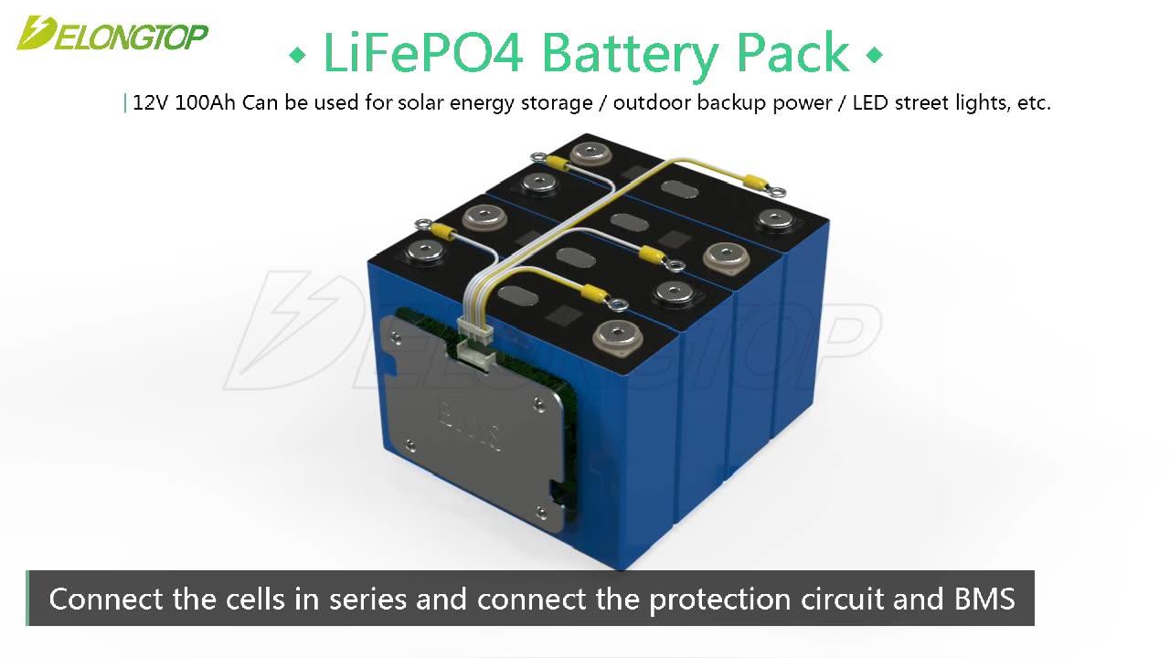 100ah/150ah/200ah/300ah capacidade nominal e 260*172*225mm tamanho bateria de lítio 12v 100ah
