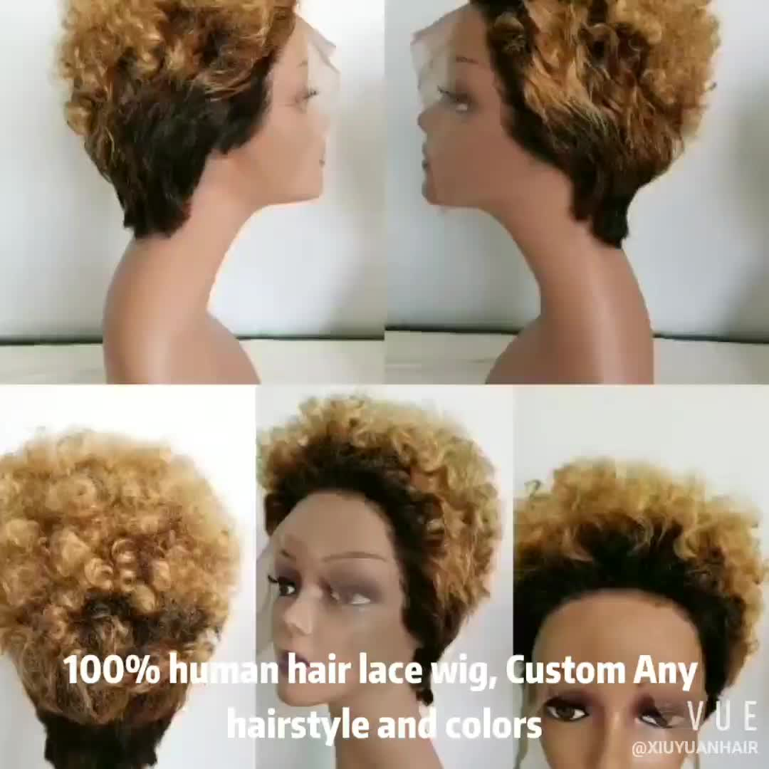 wholesale virgin hair vendors custom ombre colored lace frontal wig human hair brazilian wigs for black women