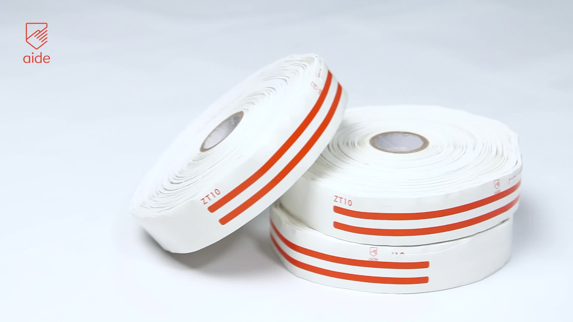 AIDE Auto-adesivas Personalizadas Pulseiras de IDENTIFICAÇÃO do Paciente Hospital Termal Rolo