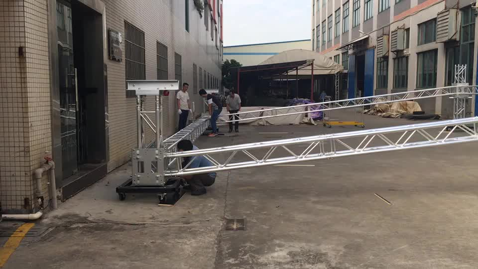 Chinese Professional Truss Manufacturer Custom TUV Certified Aluminum lighting Truss 290 Spigot stage Truss