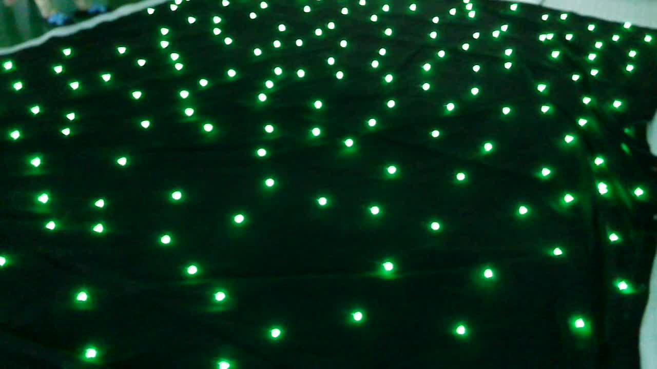 festive party christmas light supplies white fireproof velvet fabric backdrop rgb led bulb lighting star