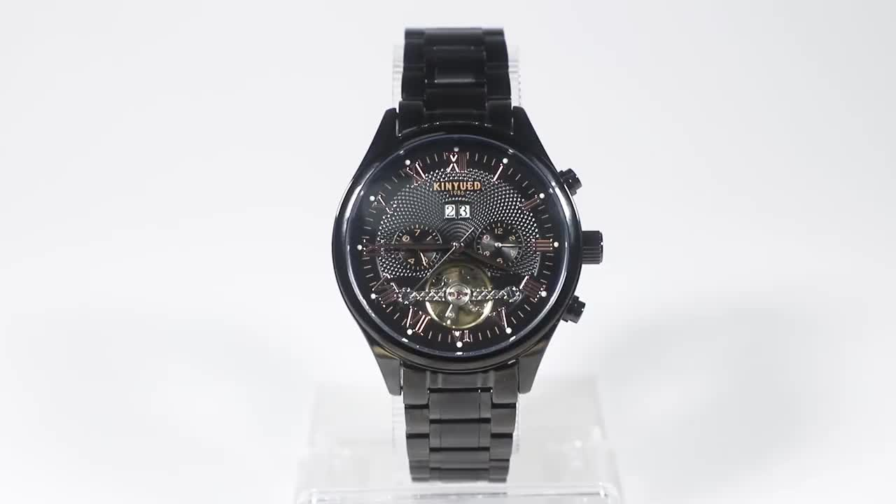 KINYUED 2020 New Business Menwatch Special Design Hour  Men Point Mechanical Relojes Wristwatches