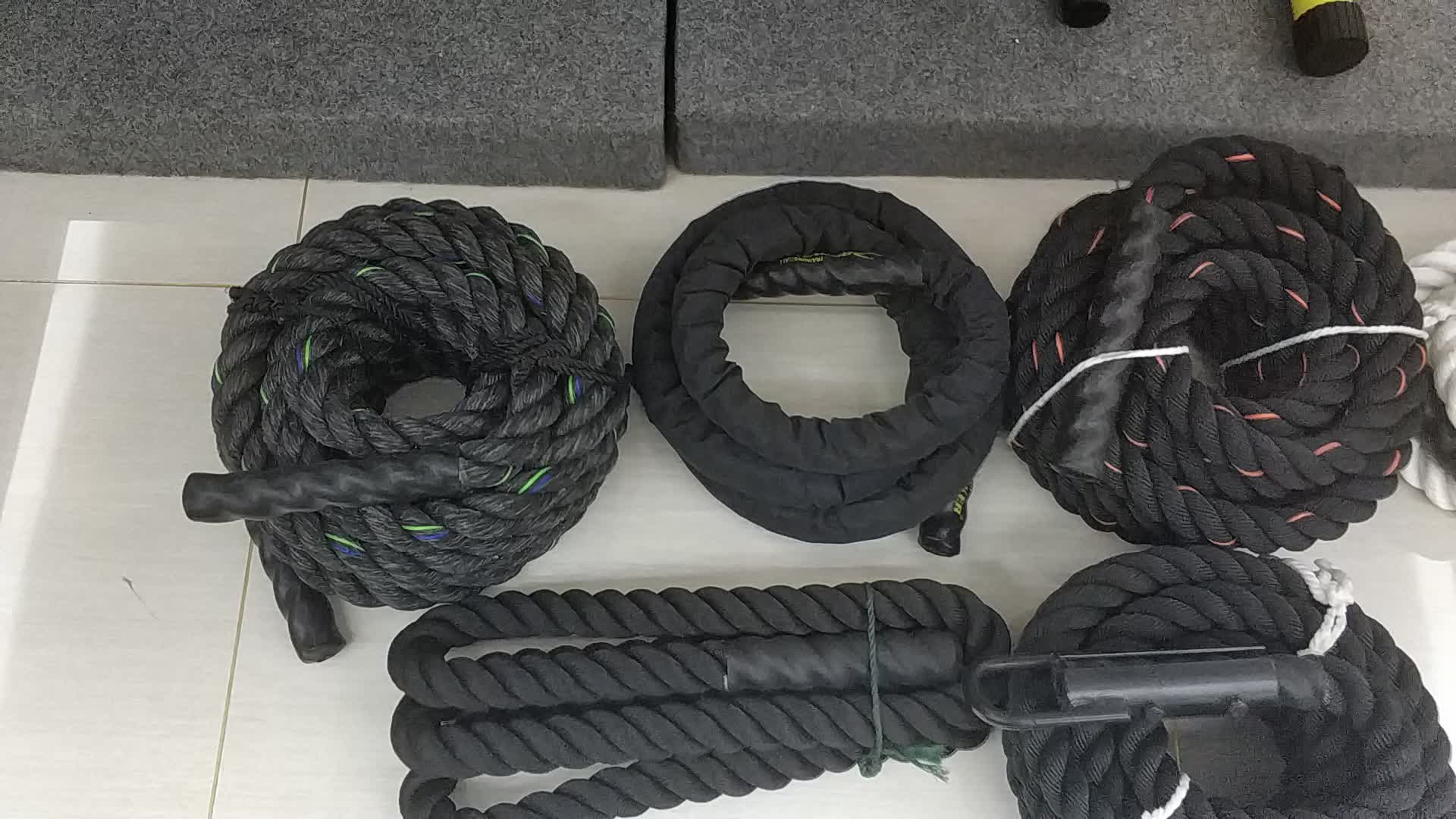 Heiße Verkäufe Power Training Ropes Fitness Training Battle Rope