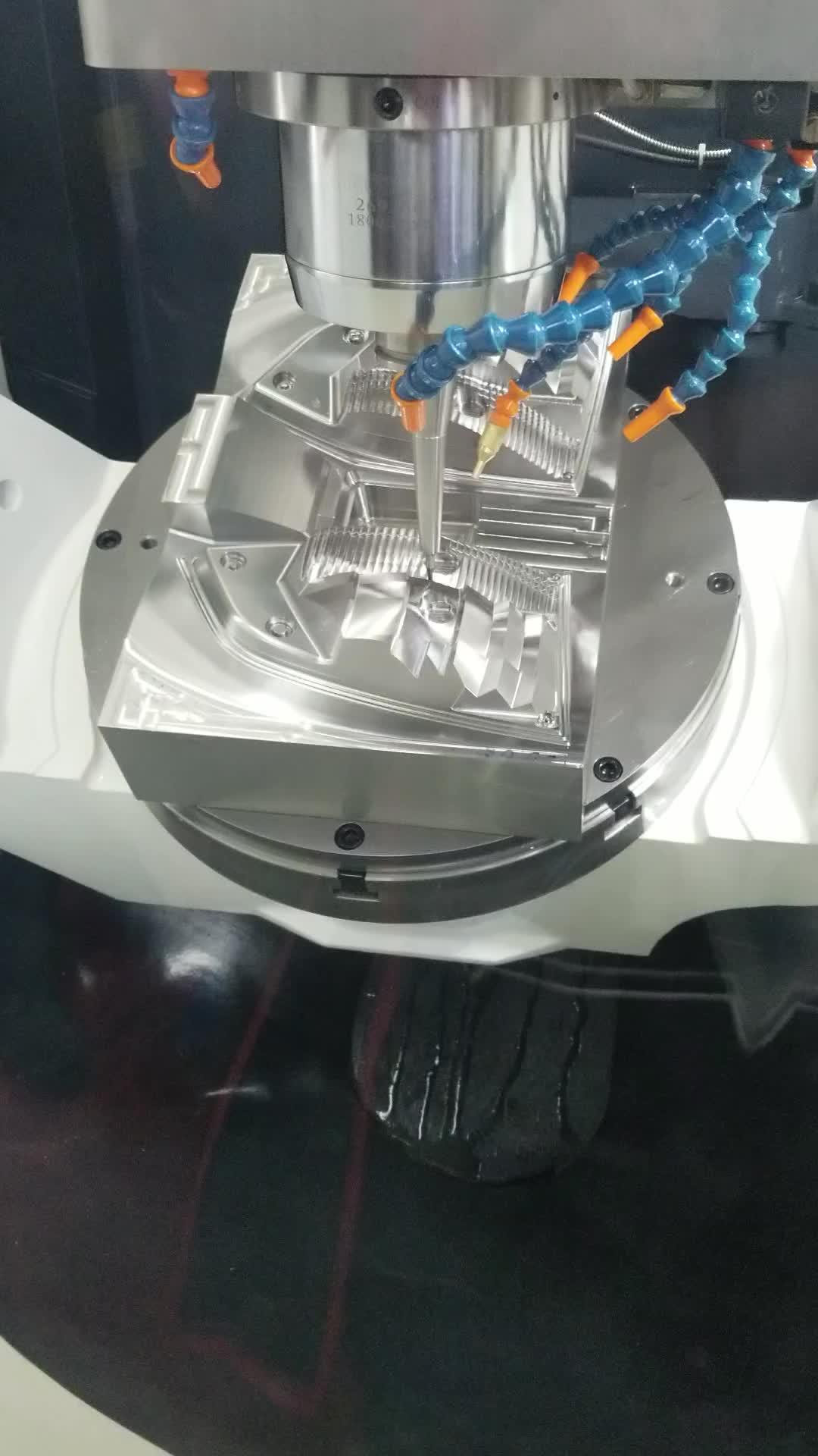 custom precision aluminum cnc turning parts/5 axis cnc machining aluminum milling service