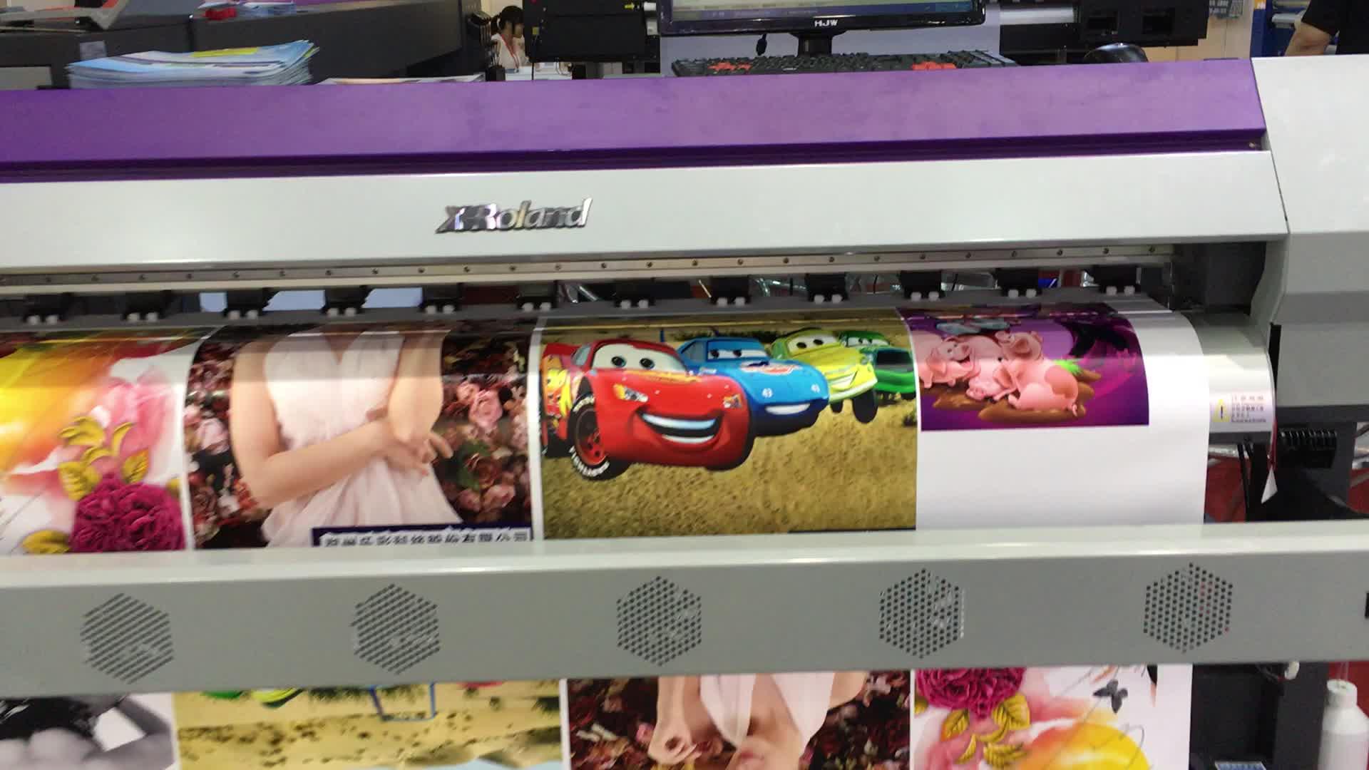 Inkjet drucker dx7 6 fuß eco-solvent-drucker flachs banner.